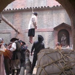 Hangman in Aguila Roja